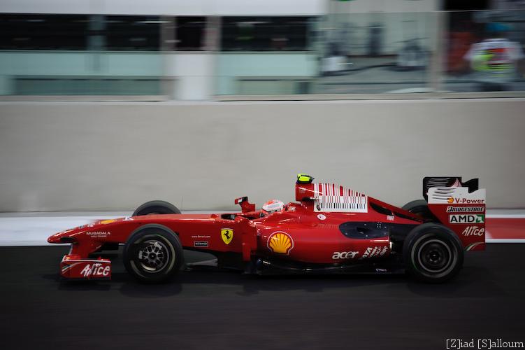 Ferrari Roaring Past (D700, Sigma 70-200mm f/2.8 @ 160mm, f2.8, ISO 200, 1/400sec)