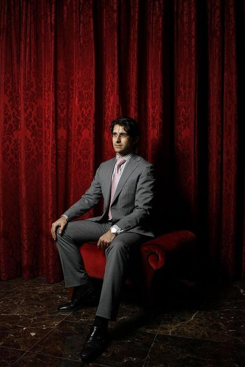 ABU DHABI, UNITED ARAB EMIRATES - November 24, 2009: Ziad Salloum, sits for a portrait at the Beach Rotana hotel, he is campaigning for the Abu Dhabi Chamber of Commerce Elections. ( Ryan Carter / The National )